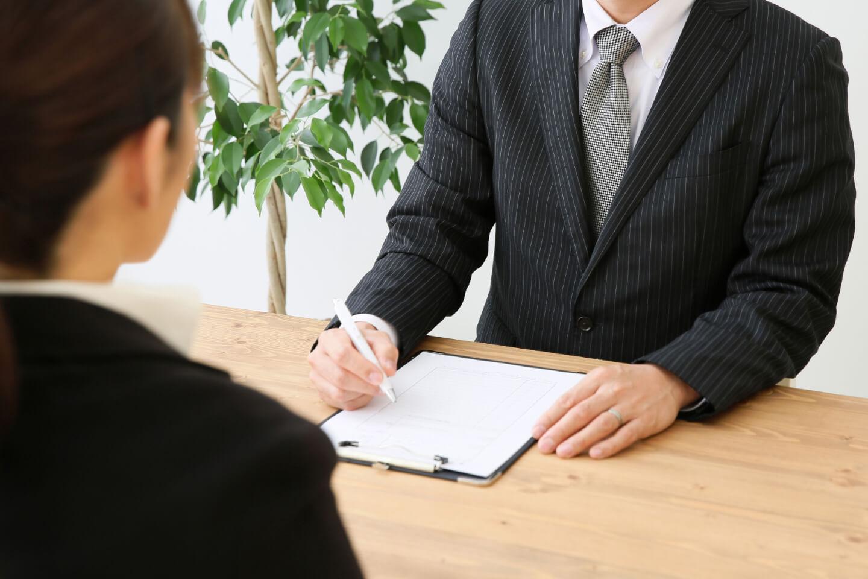 転職までの流れ step2 面談・求人票紹介